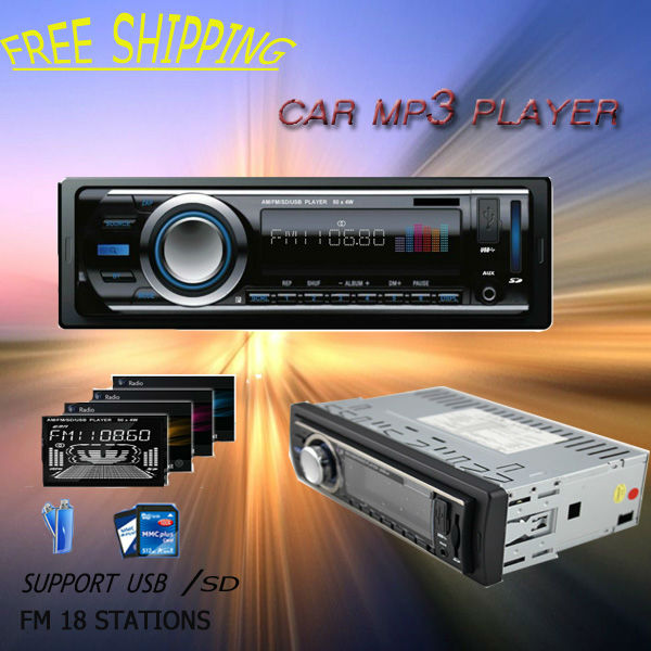 promotion Factory price blue ray dash car mp3 radio single din ID3 FM Transmitter USB SD MMC Slot - Shenzhen Votops Auto Multimedia Co., Ltd. store