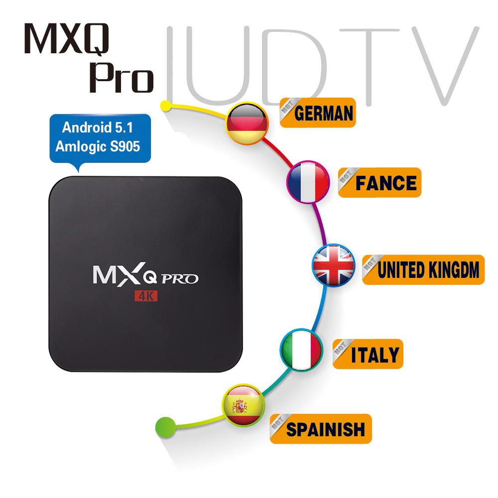 MXQ Pro Amlogic S905 Quad Core Andorid 5.1 TV BOX MXQPro 1000M 1GB/8GB 2.4GHz WiFi BT4.0 H.265 HDMI2.0 KODI 16.0 Better than MXQ<br>