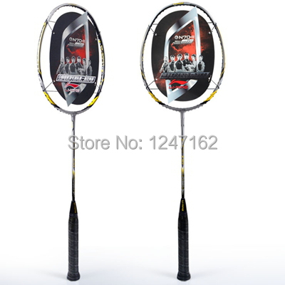 Free shipping the original li ning top high-end carbon attack n70ii give badminton badminton racket bags /overgrip /string<br><br>Aliexpress