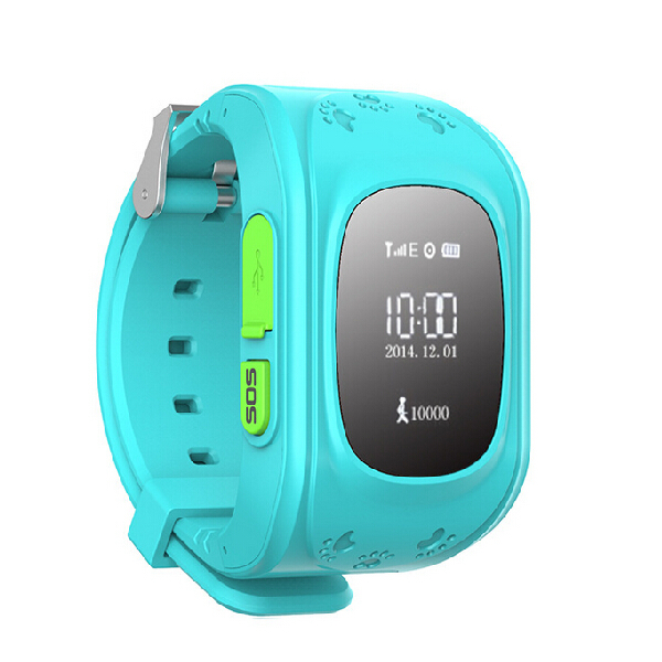 Freeshipping 2015 GPS Trackers for Kids Child Older Smart GPS Watch Bracelet Wristband Positioning Anti-lost Personal Tracker(China (Mainland))