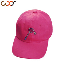 Korean Ulzzang Embroidery Bowling Peaked Cap Curved Eaves Baseball Hats Men And Women Leisure Time Sunscreen Sun Hat(China (Mainland))
