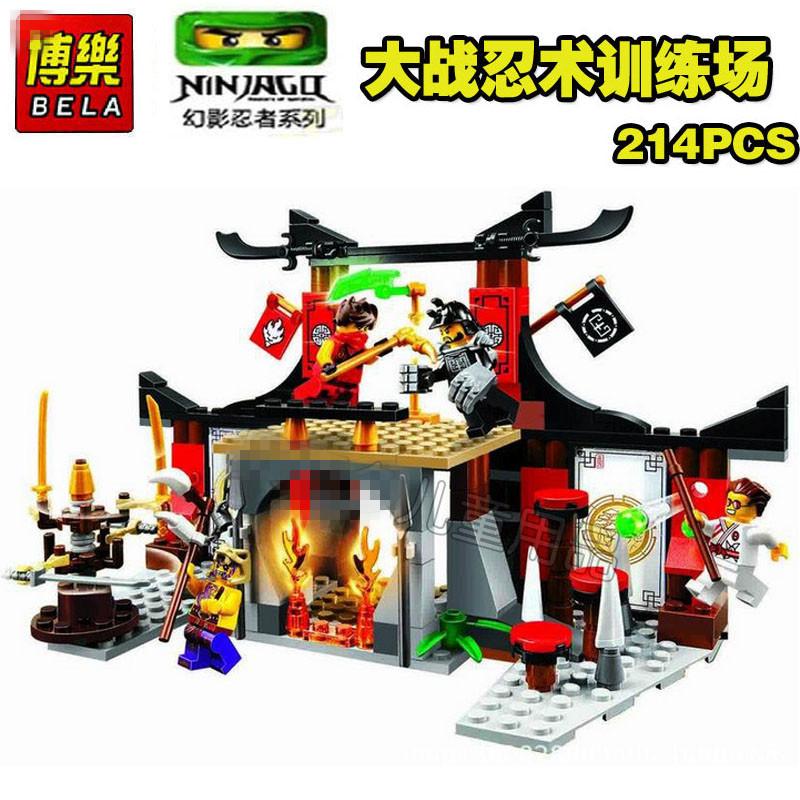 Ninja Toys For Boys : New set ninjago ninja ninjutsu trainning scene building