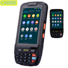 Caribe PL-40L programável 2d scanner de código de barras portátil android com NFC e 4G(China (Mainland))