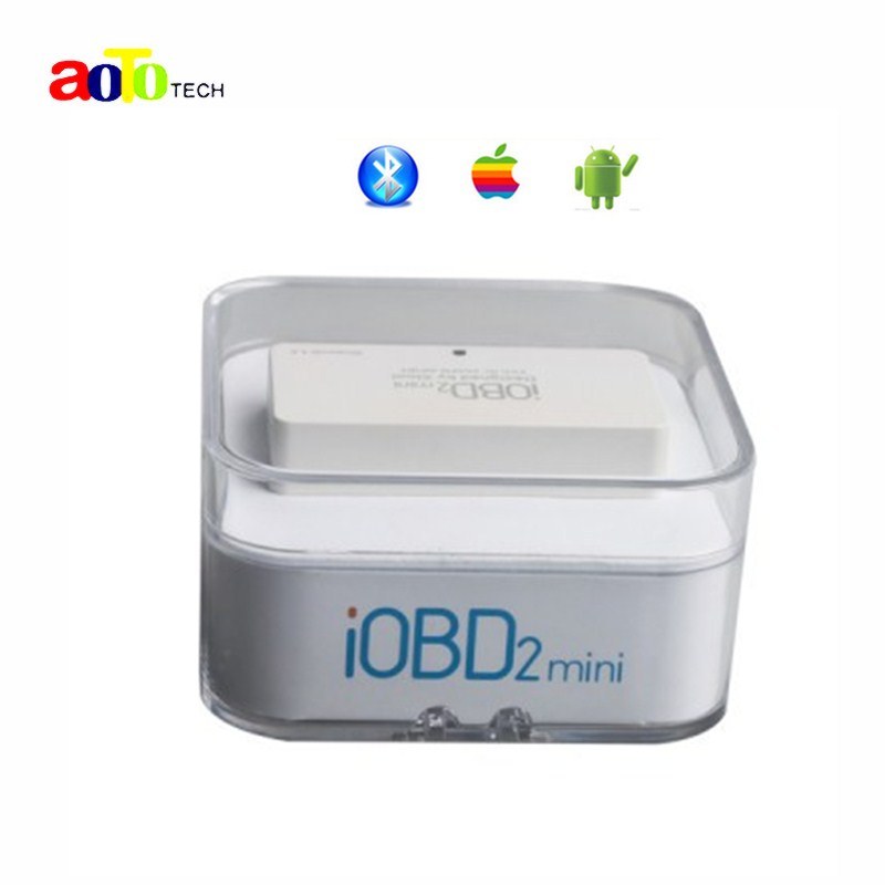 100% Original XTOOL iOBD2 Mini OBD2 EOBD Scanner Support Bluetooth 4.0 for iOS and Android Better than ELM327(China (Mainland))