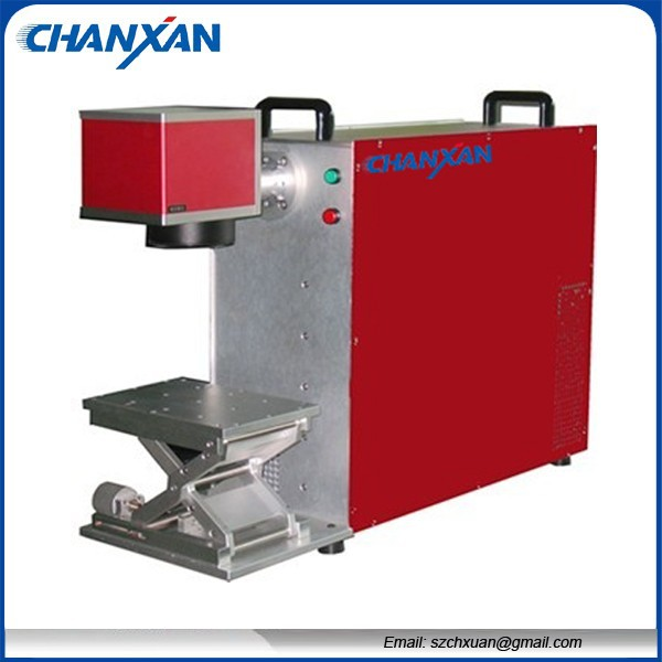 10 watts 20 watts Optical Fiber Laser MarkingMachine Price Skype:szchanxan(China (Mainland))