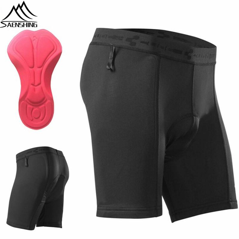 Saenshing New Cube cycling underwear MTB bike padded Inside short pants Cycling Shorts Highest quality cube bike shorts S-XXL(China (Mainland))