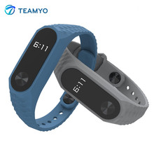 Buy Mijobs Silicone Wrist Strap Bracelet Colorful Replacement Watchbands Xiaomi Mi Band 2 Smart Bracelet Miband 2 Wristbands for $1.38 in AliExpress store