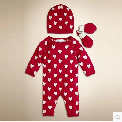 New autumn and winter sweater Romper newborn child leotard Romper climbing clothes baby knit jumpsuit<br><br>Aliexpress
