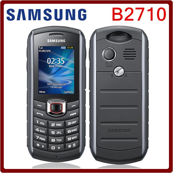 B2710 Original Unlocked Samsung B2710 1300mAh 2MP GPS 3G Waterproof Refurbished Cellphone Drop shipping(China (Mainland))