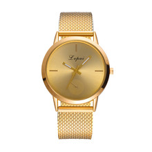 New Women watches top brand luxury Steel Quartz Ladies Rose gold Bracelet Watch Casual Clock Lovers Girl Wristwatch Relogio gift(China)