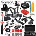 Vamson Gopro Accessories Set For Go Pro Hero 5 4 3 kit Selfie Stick Monopod For