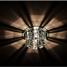 A25 Modern Crystal LED Ceiling Light Lamp Fixture Lighting Chandelier White(China (Mainland))
