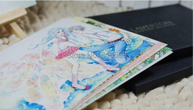 Поздравительная открытка XIn 24pcs s2436