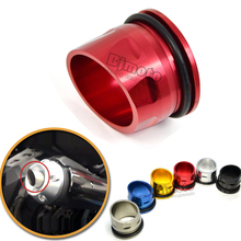 ETC-YA001-RD New Red Color Motorcycle CNC Aluminum Exhaust Tip Cover For Yamaha T-max 530 2012-2015