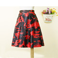 Free Shipping WOMENS LADIES NEW FLORAL PRINT SKIRT HOT SALES CHEAPING CLOTHING SEXY SUMMER VINTAGE SKIRT