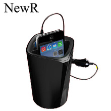 ORICO UCH-C3-BK 3 Port Creative USB Cup Car Charger 2.4A*3 with Intelligent Charging IC for iPad/iPhone