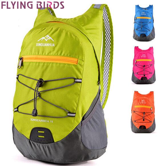 FLYING BIRDS! women backpack men's travel bags Daily Backpacks hiking backpack men bags school bag foldable sports bag LS5873fb(China (Mainland))