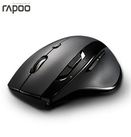 Original Rapoo 7800P 5Ghz Wireless game Mouse,1600 DPI Laser mouse for Computer and Desktop Laptop.(China (Mainland))
