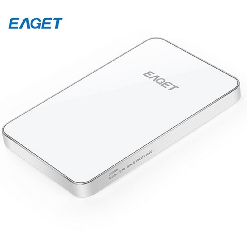 EAGET E30 500GB 2.5 USB 3.0 HDD External Hard Drives Hard Disk High-Speed Universal Computer Hard Drive External HDD 500GB(China (Mainland))