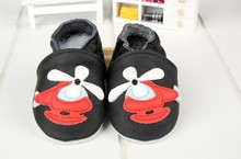 Children Real leather baby moccasins boy Black Genuine leather shoes toddler shoes children's shoes baby soft sneaker dropship(China (Mainland))