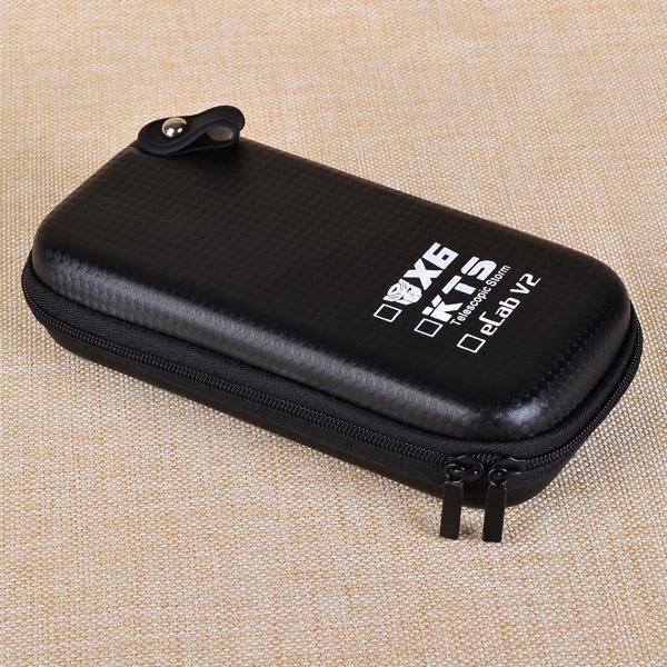 Большой X6 чехол X6 KTS молнии чехол E сигарета кожаный чехол сумка для X6 KTS K100 K201 K200 ecab v2 электронная сигарета стартовый комплект
