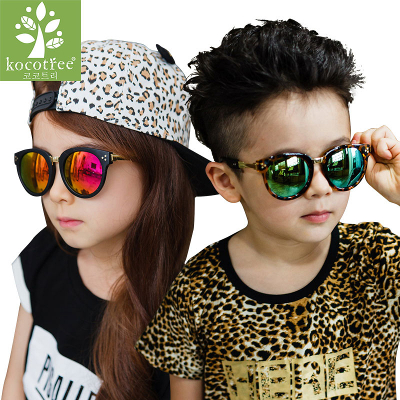 Fashion Sunglasses Whole  kids polarized pilot sunglasses cool colorful uv 400 children ray