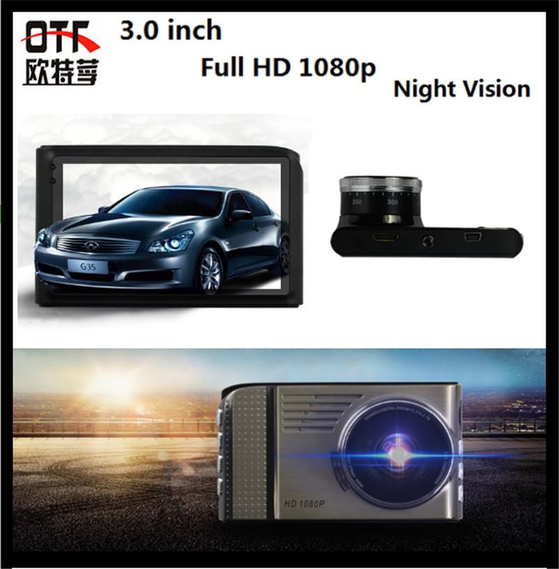 Night Vision Car Dash Car Camera 3.0nch TFT LED Screen Road Recorder Night View King Full HD 170 Degree Car DVR Camera(China (Mainland))