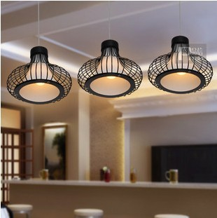 Modern Brief Dining Room Pendant Lights Glass Lamp Shade 3 Head E27 Light Source Length 65cm High120cm Free Shipping<br><br>Aliexpress