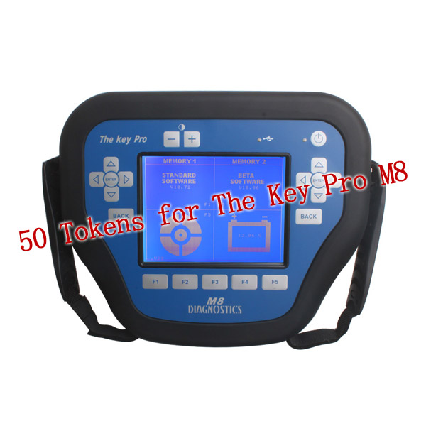 50 Tokens Get Total 150 Tokens for The Key Pro M8 Auto Key Programmer M8 Diagnosis Locksmith Tool(China (Mainland))