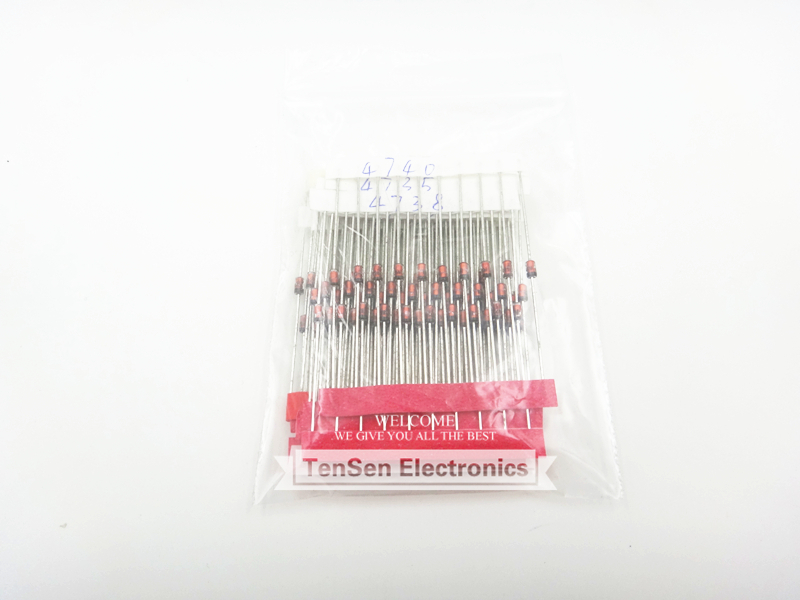 1W Zener diode,14valuesX10pcs=140pcs,Electronic Components Package,Zener diode Assorted Kit(China (Mainland))