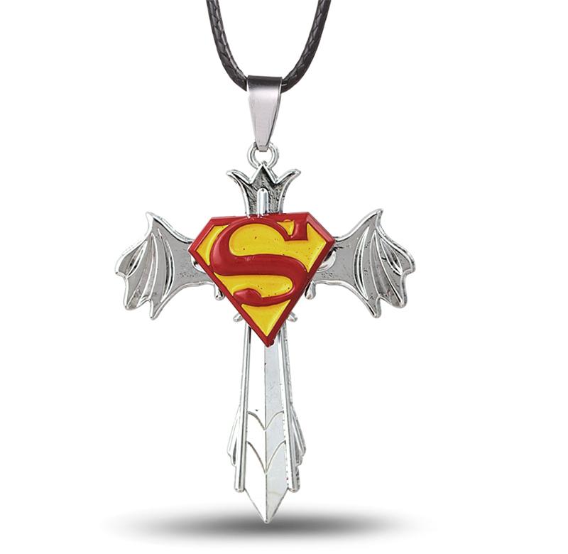 Superman symbole collier promotion achetez des superman - Symbole de superman ...