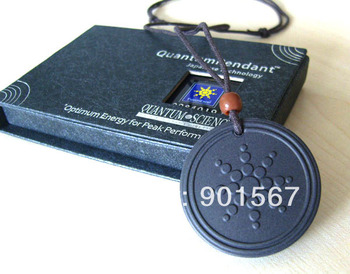 -=< Retail >=- Quantum Scalar Energy Pendant Classic Design 2000 - 3000 negative ions Free Shipping