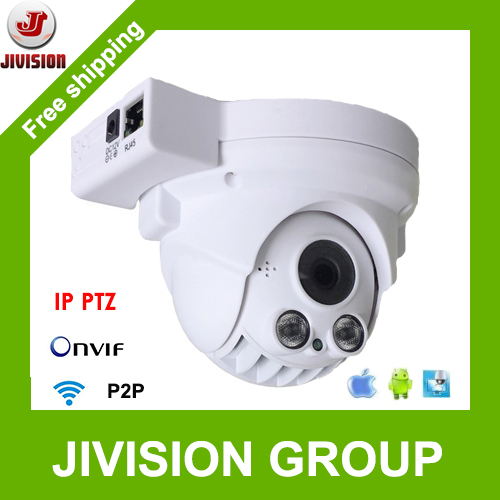 1080P IP Camera PTZ Wireless Onvif 2.0Megapixel Infrared mini Speed Dome P2P Cloud 4X optical Zoom Pan Tilt Dome PTZ Camera Wifi(China (Mainland))
