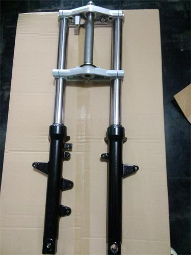 For Li Chi Haojue Suzuki GW250 front fork damper assembly plate steering column assembly upper and lower joint assembly(China (Mainland))