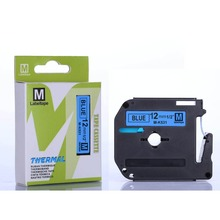 Buy Free 2pcs MK531 M-K531 black blue 12mm x 8m compatible Brother ptouch P-toucher PT-70 PT-80 printers for $7.89 in AliExpress store