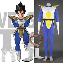 Athemis Vegeta III Jumpsuit Dragon Ball Z Cosplay Blue Tight-fitting Clothes Fighting Costumes High Quality