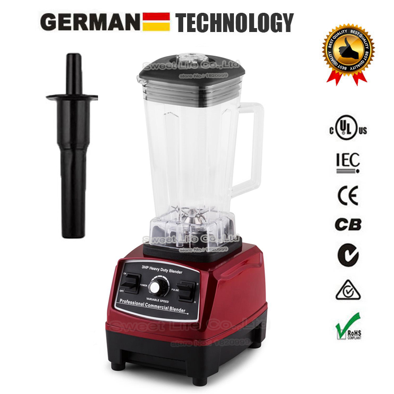 EU/UK/US/AU Plug 3HP BPA FREE commercial grade home professional smoothies power blender food mixer juicer food fruit processor(China (Mainland))