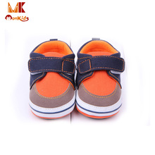 MK 2016 Spring Fashion Baby Girl/Boy Shoes Mixed Colors Toddler Moccasins Neutral Shallow Baby's Infant Hook&Loop Rubber Shoes(China (Mainland))