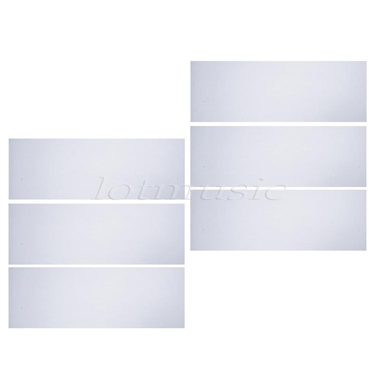 Translucent Self Adhesive Acoustic Pickguard Scratch Plate Sheet 18*46cm ,6pcs(China (Mainland))