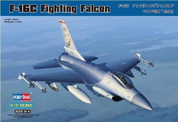 Hobby Boss 80274 1/72 F-16C Fighting Falcon(China (Mainland))