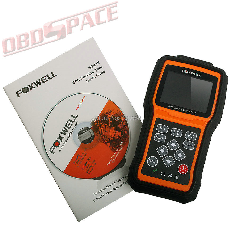 Profesional Foxwell NT415 EPB Service Tool NT415 Electronic Park Brake Service Tool Special Maintenance of Brake Systems(Hong Kong)