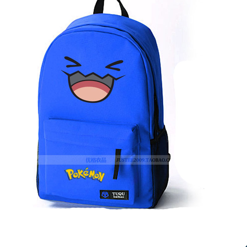 Pokemon Cute Sonansu Bagpack Student Sport Travel Backpack Mochila Pocket Monster Printing Shoulder Bag Rucksack - Hangzhou Angelababy KIDS Clothing Co.,Ttd store