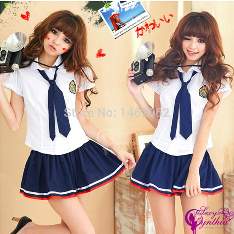 Students in school uniform dress uniform temptation nightclub princess dress costumes ds role playing costumes XS019(China (Mainland))