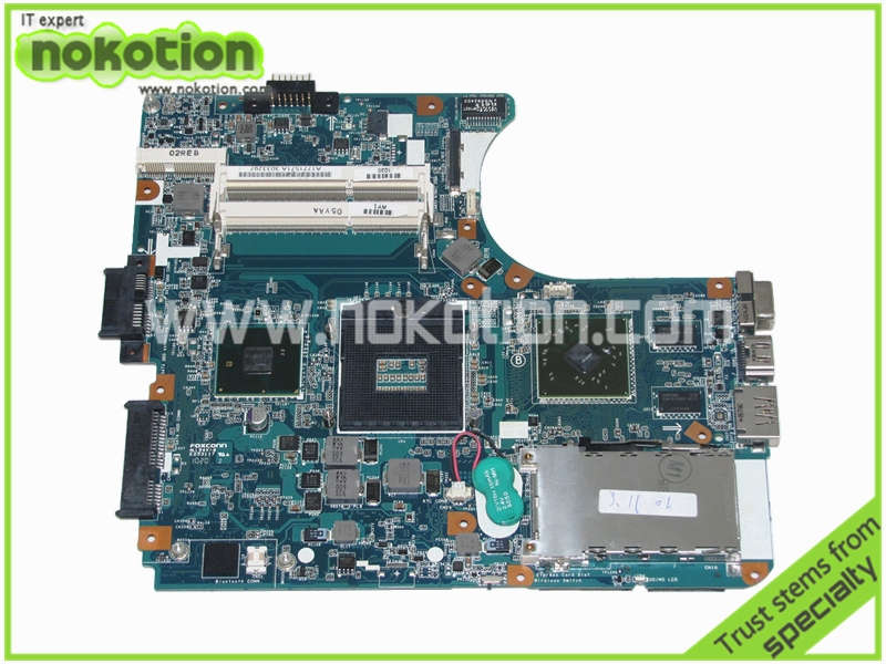 Laptop motherboard For Sony VAIO VPCEA SERIES VPCEA290X 14 A1771571A M960 MBX-224 Inel hm55 DDR3 ATI HD 5470M 1P-009CJ01-8011(China (Mainland))