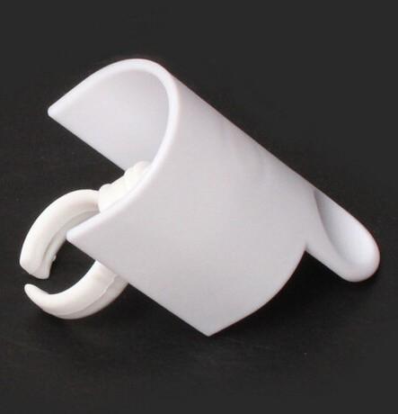 New Arrival false eyelash extension Lash holder Signature Glue Ring holder with Eyelash Pallet Set 10pcs/lot(China (Mainland))
