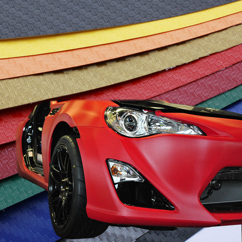 200X50cm 3D 4D Carbon Fiber Vinyl Film 3M Car Sticker Waterproof DIY Car Styling Wrap With Retail packaging Free Shipping(China (Mainland))