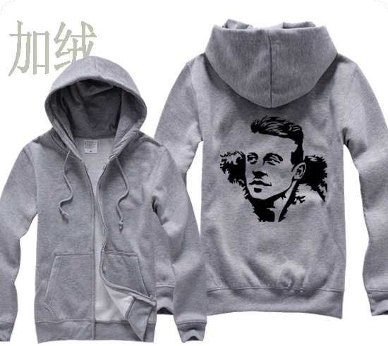 Thrift Shop Professor Macklemore Ben Haggerty side profile head portrait basketball man sports full zip hoodies(China (Mainland))