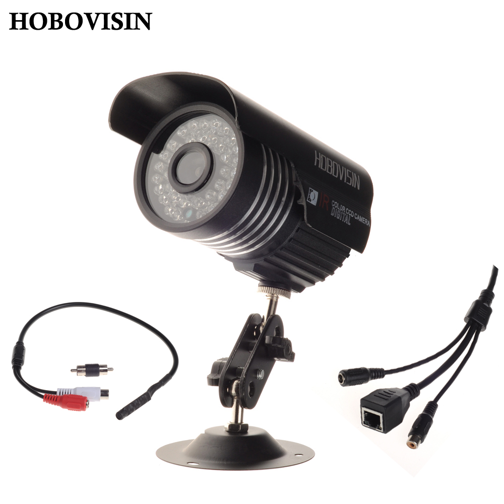 HOBOVISIN HD 1080P HI3516C + 1/2.8'' SONY IMX322 IP Camera Audio 2MP With External Microphone Pickup Outdoor metal Bullet CCTV(China (Mainland))