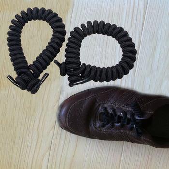 1 Pair Women Men Coil Shoelaces Elastic Curly Shoes Sports Lace Unisex Non Tie #23565