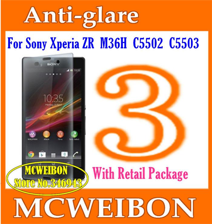 Защитная пленка для мобильных телефонов Sony Xperia ZR M36H C5503 c5502,  3 replacement 3 7v 3030mah battery for sony xperia zr m36h c5502 ba950 golden